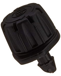10 Pack Adjustable Flow Emitter - Black