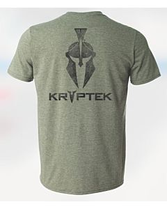Men's Spartan Back Print Tee Shirt