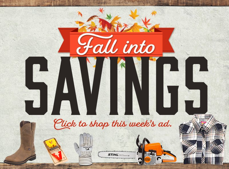 Fall Savings Ad CAL Ranch Weekly Ad Shop