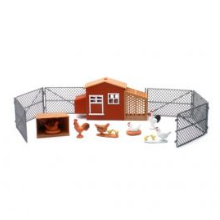 Country Life Toy Chicken Set