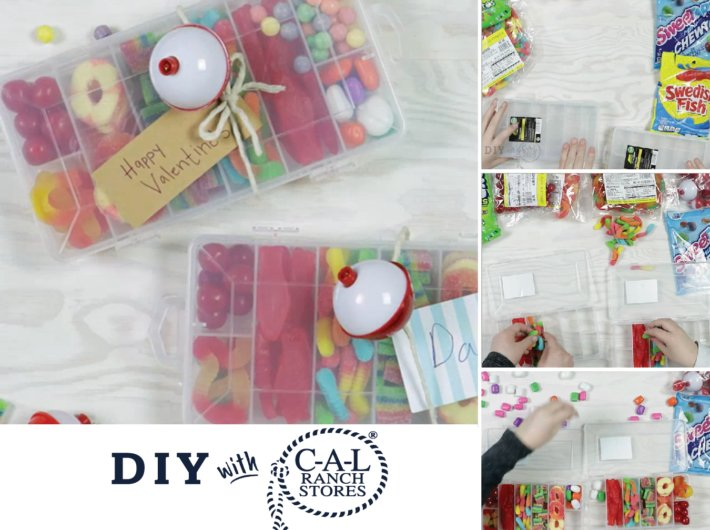 DIY: Candy Tackle Boxes